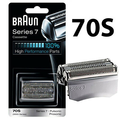 NEW Braun 70S Series 7 Electric Shaver Replacement Foil Cutter Cartridge Head