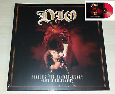 Dio Sacred Heart Live In Philly 1986 2 Vinili Lp Rosso Record Store Day 2018