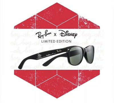 4fb5ae5c19 NEW Ray Ban Disney Parks 2018 Mickey Mouse Limited Edition Sunglasses  Wayfarer