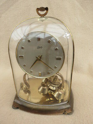 Small Vintage German Schatz Torsion Anniversary Clock For Repair