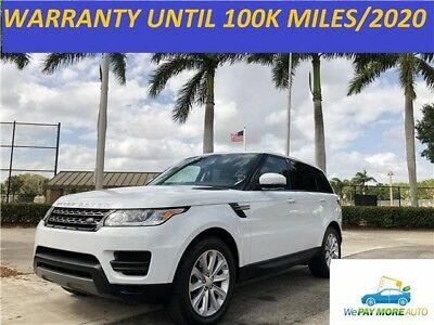 2015 Land Rover Range Rover Sport Supercharged V6 SE CPO Warranty 100k Miles land rover range rover hse 2014 evoque autobiography supercharged no reserve