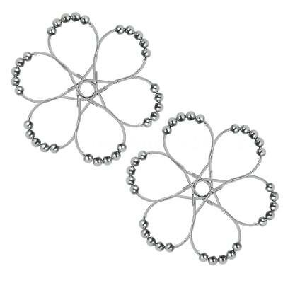 12pcs/set Shower Curtain Rings Hooks for Shower Rod Rust-proof Stainless R5L0