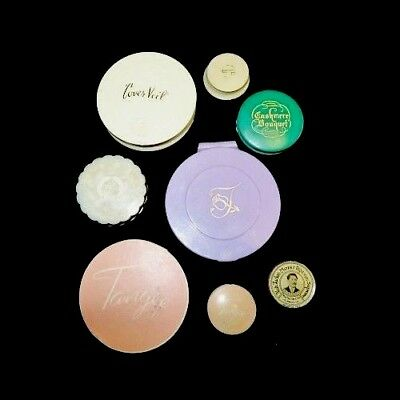 Vintage Vanity Collectables - Rouge - Powder Compacts - Lot Of 8 Items