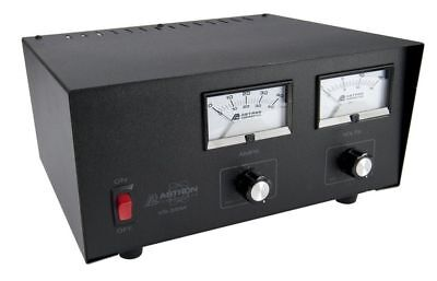 Astron VS-35M Linear Tabletop Power Supply w/ Meters, Variable 2-15VDC, 35A Max