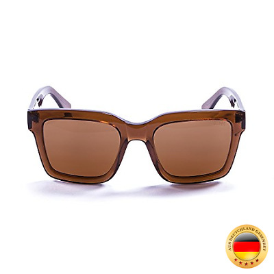 OCEAN SUNGLASSES Jaws Lunettes de Soleil Mixte Adulte, Dark Brown Transparent/B