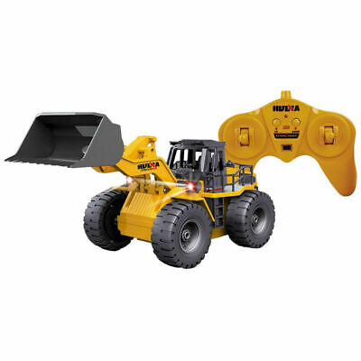 RC Remote Controlled 2.4GHz Die-Cast Tractor Bulldozer Digger Toy/Excavator/Kids