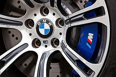 BMW M Brake Caliper Decals Vinyl Graphics Stickers Custom Tuning Performance
