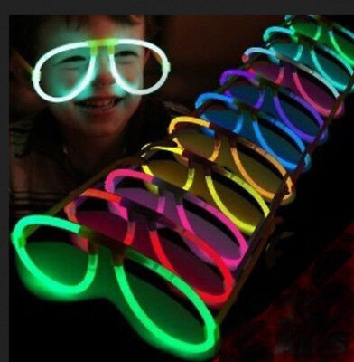 5 Assorted Glowsticks Glasses Party Neon Rave Favors Toy Glow Sticks