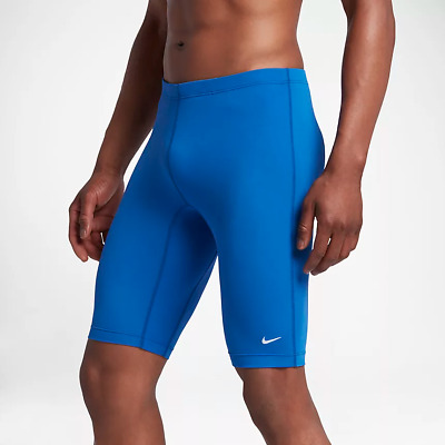 b5e56276170 NIKE Royal Blue Poly Core Solid Jammer TESS0036 Men's Swimsuit NWT Size 32