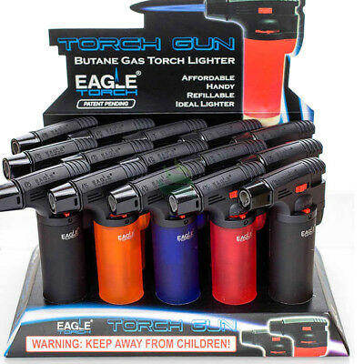 Authentic Eagle Gun Torch Jet Lighter Butane Refillable Windproof Torch Lighter