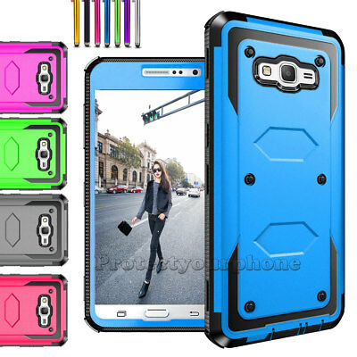 For Samsung Galaxy On5 Case Shockproof Armor Hybrid Rugged PC+TPU Hard Cover