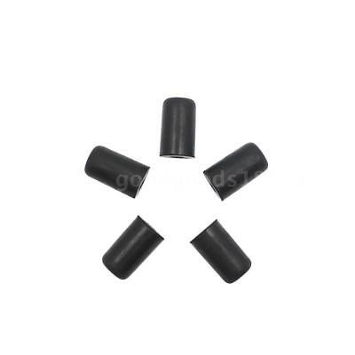 5pcs Endpin Rubber Tip Cap Protector for Cello for Beginners Black D3T7