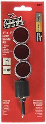 Vermont American 17071-1-Inch by 1-Inch Useable Length Drum Sanding Kit