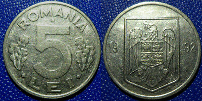 5 lei 1995 RARE Year Romania Coin Low Shipping Combine FREE!