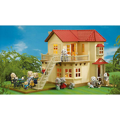 Sylvanian Families Beechwood Hall with Furniture and Poodle Family
