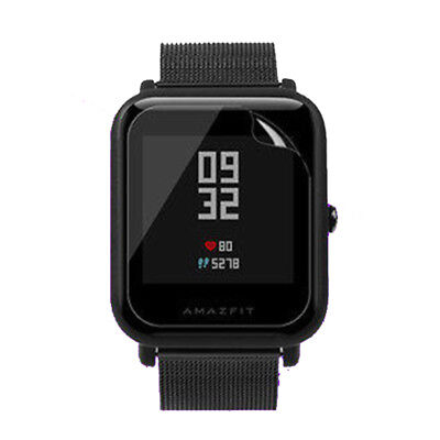 2x TPU Screen Protector For Xiaomi Huami Amazfit Bip PACE Lite Youth Smart Watch