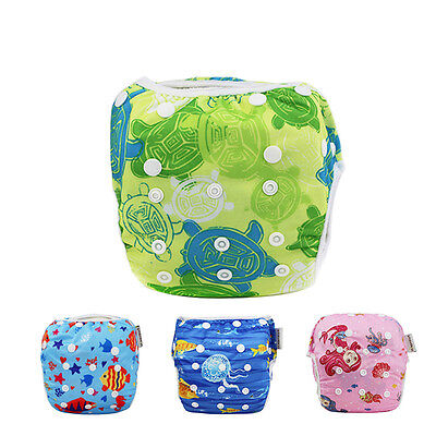 Swim Nappy Diaper Leakproof Reusable Baby Infant Boys Girls Toddler Pants UK