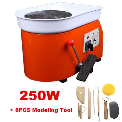 25cm Electric Pottery Wheel Pottery Machine For Ceramics Clay Throwing Machine