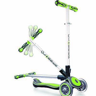 Globber 3 Wheel Scooter My Free Fold Up Green