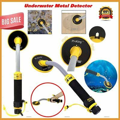 30M Underwater Probe Pulse Induction Metal Detector Pin Pointer Gold Hunter RE