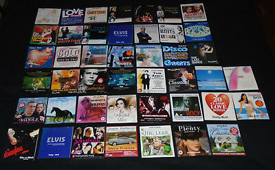 44 X CD's Daily Mail Movies,DVD'S Films Sunday Express,Job Lot,Collection,Bundle