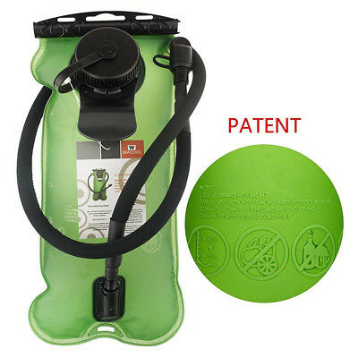 3L Portable PEVA Hydration Pack Bladder Folding Water Storage Tank Container
