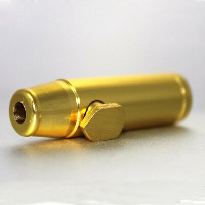 2pcs Snuff Bullet Dispenser Metal Aluminum Snorter Rocket Box Nasal Gold Color