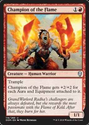 Valduk Keeper of the Flame FOIL x1 Dominaria Magic uncommon pack fresh