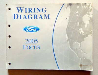 2005 Ford Focus Wiring Diagrams Service Repair Manual Oem Factory