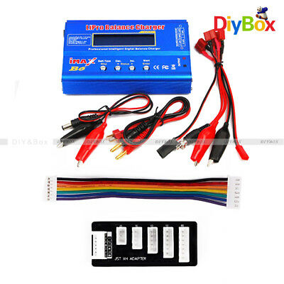 iMAX B6 LCD Screen Digital RC Lipo NiMh Battery Balance Charger 2S 6S JST-XH