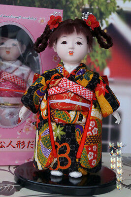 New style~~Beautiful Oriental Broider Doll,Lovely Japanese doll girl figure