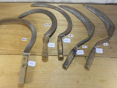 Your Choice Vintage Hand Sickles Assorted Shapes & Sizes FREE SHIPPING