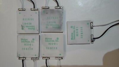 Pack of 5 Marlow Industries, Inc. Thermoelectric cooler, RC 6-8 L, Qmax 40W@7.4A