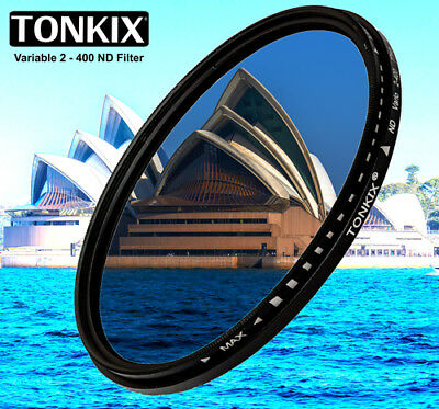 Tonkix 77mm  ND2 to ND400 Variable ND Neutral Density Filter fader 52 72 67 58