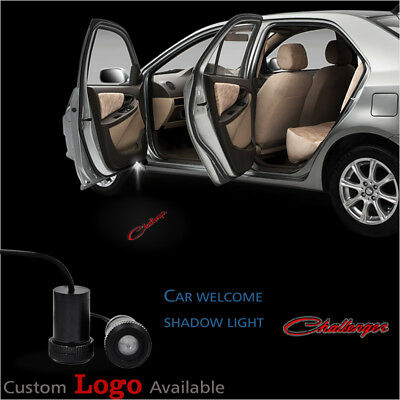 For Dodge Challenger Car Door Courtesy Welcome Projector Ghost Shadow LED Lights & DODGE CHALLENGER LED Door Projector Courtesy Puddle Logo Lights ...