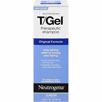 Neutrogena T/Gel Therapeutic Shampoo Original Formula - 16 Ounce (Pack of 6)