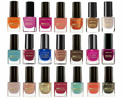 New Max Factor Colour Effect Mini Nail Polish Varnish 5ml BUY 1 GET 1 20% OFF