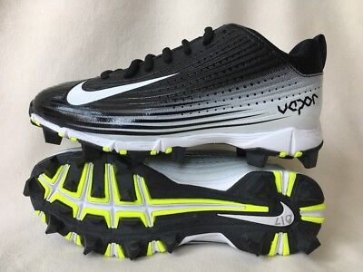 NIKE Youth Boys Vapor Keystone 2 Low Softball Baseball Cleats Black 707443  4.5Y