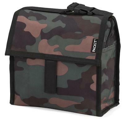 Packit Camo Mini Cooler - Freezable Snack Pack Keeps Cold For 10 Hours