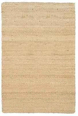 Jute & Co Double Face Tappeto in Juta Tessuto a Mano, Naturale, 160 x 240 cm