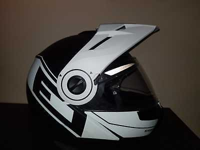 casque moto schuberth E1 + kit bluethoot Sena original