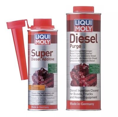 Liqui Moly Diesel Purge Treatment + Super Diesel Additive Injector Cleaner