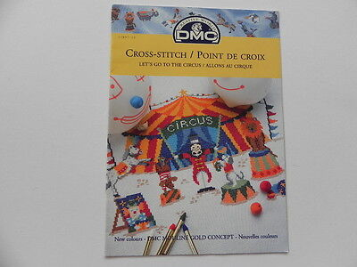 Cross Stitch Pattern Book - Let's Go To The Circus