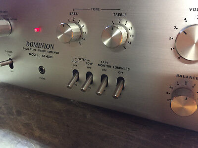 Dominion St-500 Stereo Power Amplifier