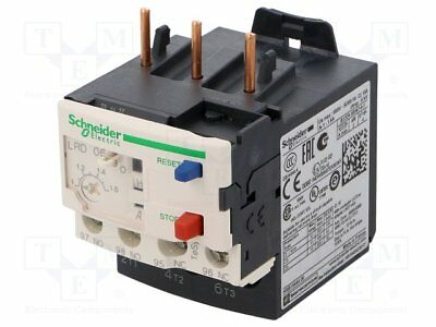 Schneider Electric Thermal Overload Relay  LRD06 , 1-1.6A 600V AC  - 034676