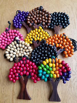 P3 set of 10 wholesale clearance wooden tree of life necklace pendant