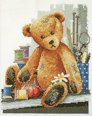 Thread Bear - Cross Stitch Chart by Country Threads