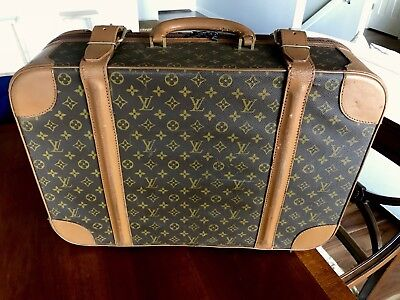 LOUIS VUITTON - Vintage Jetsetter Monogram Luggage Carry-On Suitcase Trunk 23""