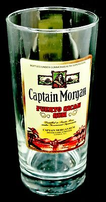 Captain Morgan Puerto Rican Rum Drinking Glass Tumbler