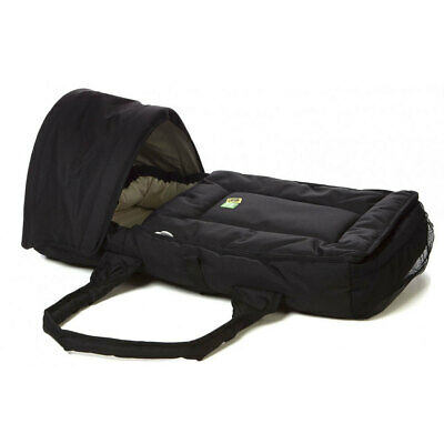 Vee Bee Black Walkabout Infant/Baby/Newborn Cocoon Bassinet/Carrier/Portable